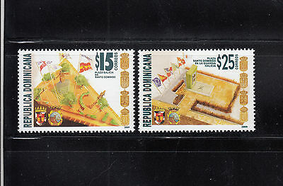 Dominican Republic 2009 Twin Cities Sc 1472-1473  mint never hinged
