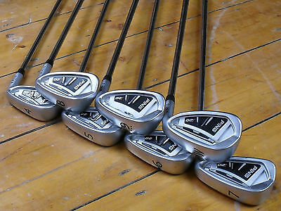 PING i20 BLACK DOT IRONS IRON SET 4-PW – CFS REG – EXCELLENT CONDITION