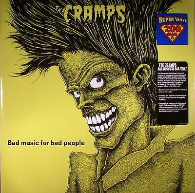 CRAMPS, The - Bad Music For Bad People (reissue) - Vinyl (LP)