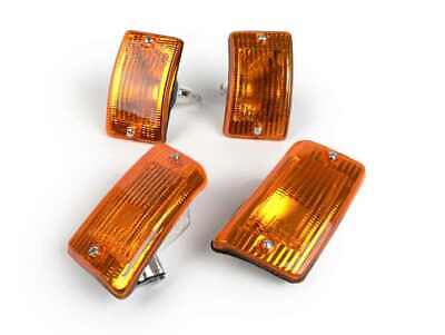 Blinker Set Satz ORIGINAL PIAGGIO Vespa PK 50 80 125 XL vorne hinten orange