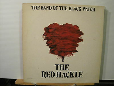 Band of the Black Watch-The Red Hackle -Vinyl Lp Free UK Post