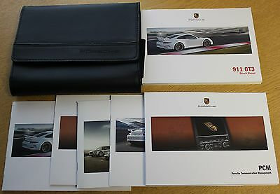 Genuine Porsche 911 Gt3 Handbook Wallet Printed 2013 Manual Pack 1340 !