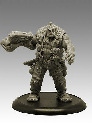 TUSKAR XUL CYBER BRUTE 35mm Scale RESIN Black Sun Miniatures