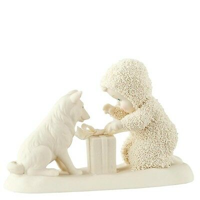 SNOWBABIES Don't Open Till Christmas Figurine Ornament Gift Boxed 4051864