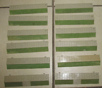 Vintage Triang Minic Motorways Oo Scale M 1640 Pavement Straights