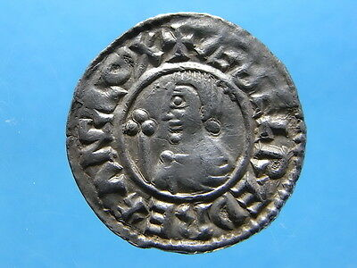 Hammered AR CRVX Type Penny Of Aethelred II. 978~1016. Winchester Mint.  (C1002)