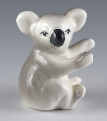 Vintage Bug House Miniature Bone China Koala Figurine Glossy Made In Japan