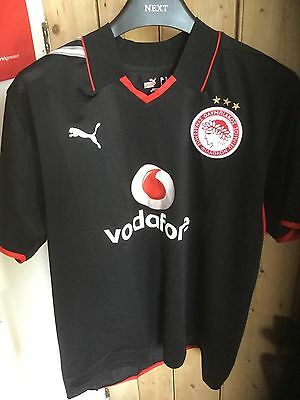 Olympiakos Football Shirt New Without Tags XL