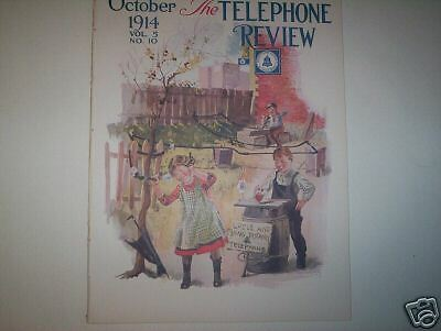 Telephone Review October 1914