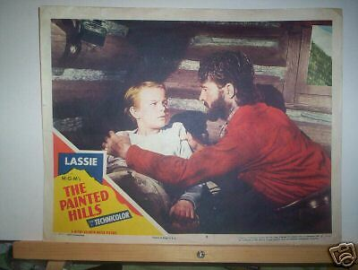 Lobby Card -  Lassie In The Painted Hills  1951