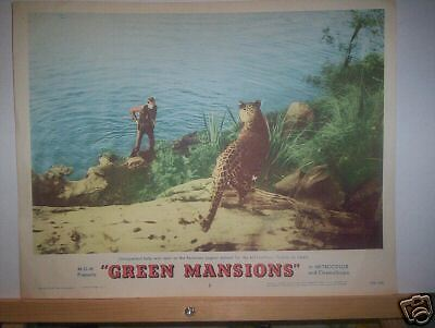 Lobby Card - Green Mansions    1959