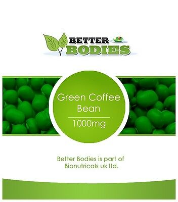 Strong Diet Slimming Fat Burners Pills Green Coffee Bean 2 Month Supply 120