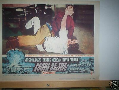 Lobby Card -  Pearl Of The South Pacific    1955