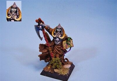 Confrontation painted miniature Undead Gravedigger of Salauel