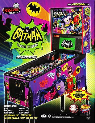 2016 Stern Batman 66 Pinball Flyer