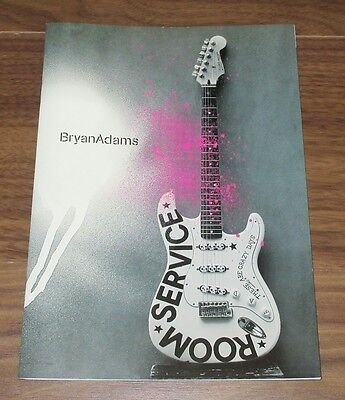 BRYAN ADAMS Japan PROMO ONLY 24 page booklet ROOM SERVICE official RARE!