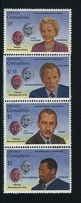 Grenada-Grenadines MNH Sc 1110-13 Theater Value $ 7,40