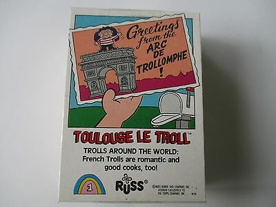 Topps/russ**trolls Around The World**set Of  Cards+Stickers