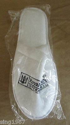 Royal Caribbean International spa slippers white new Cruise Line womens unisex