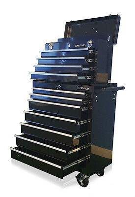 407 Us Pro Black Tools Affordable Steel Chest Tool Box Roller Cabinet 11 Drawers