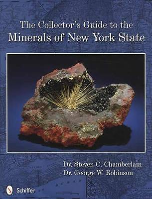 New York State Minerals Guide incl Sedimentary & Crystalline Rock Location ID