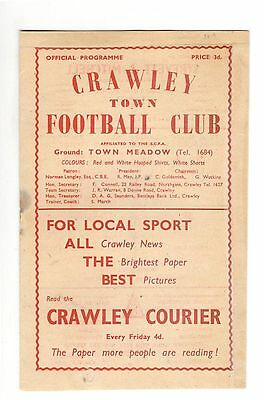 Sussex v Kent 1958 - 1959 at Crawley Town FC