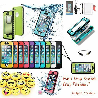 Waterproof ShockProof Touch ID Fingerprint Scanner Case Cover for iPhone 5 5S SE