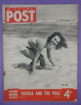 Picture Post Magazine July 19th 1947