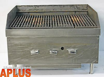 """Cecilware Charbroiler Grill 24"""" Natural Gas Model"""