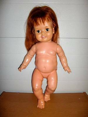 "Ideal Corp ~ 24"" Baby Crissy Doll 1972 #GHB-H-225 For PARTS ONLY"