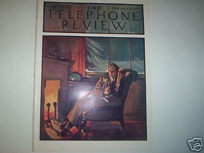 Telephone Review February 1914