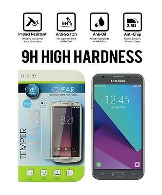 Premium Tempered Glass Screen Protector for Samsung Galaxy J3 (2017) / J3 Emerge
