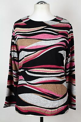 NEW WOMEN  TUNIC BLOUSE size 16/18 TOP  LONG SLEEVE  LADIES   8306