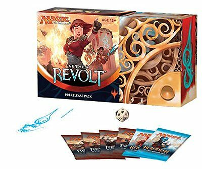 MTG Aether Revolt Pre-Release Kit Brand New! Factory Sealed! Free Shipping!