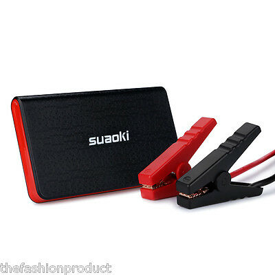 Suaoki 12V Car Jump Starter Vehicle Emergency Booster Charger Power Bank Pack