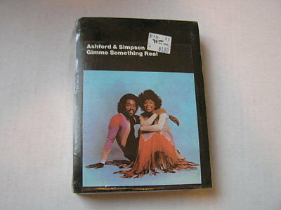 Sealed 8-Track Tape Ashford & Simpson Gimme Something Real