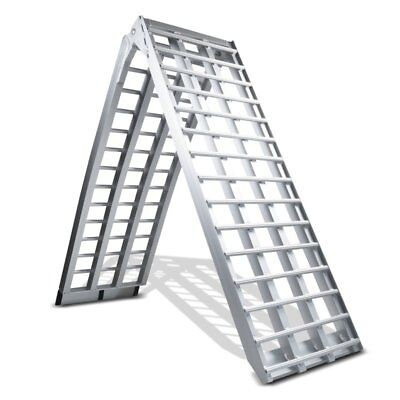 Motorcycle Aluminium Ramp Heavy Duty, max. 680 kg, Motorbike Ramp, folding