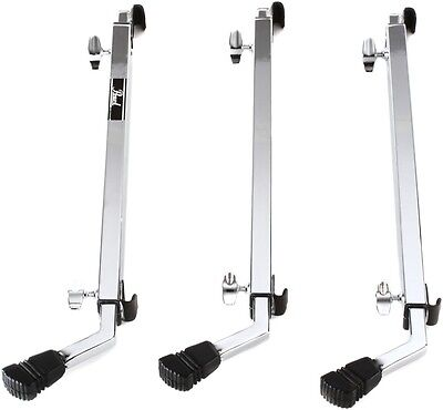 Pearl Multi-fit Bass Drum Legs - Chrome