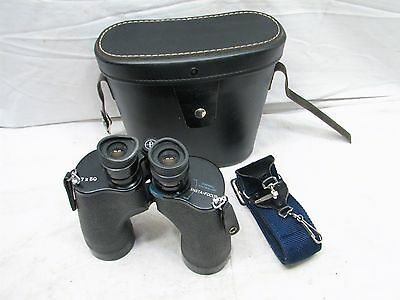 Pair Bushnell Featherlight 7 X 50 Insta-focus Binoculars w/Case Coated Optics