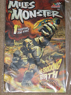 Brand New Miles The Monster (Nascar Dover) 1St Ed Collectors Comic
