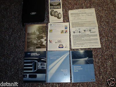 2006 Ford F250 350 450 550 Super Duty 6.0 Diesel Truck Owners Manual Books Case