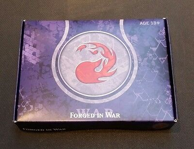 MTG Magic the Gathering Journey into Nyx Sealed Prerelease Box: Forged in War