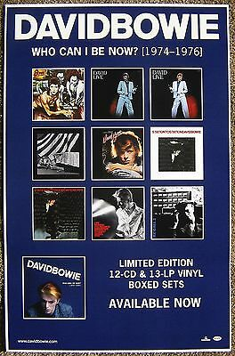 DAVID BOWIE Album POSTER Who Can I Be Now (1974-1976) Diamond Dogs Version 1