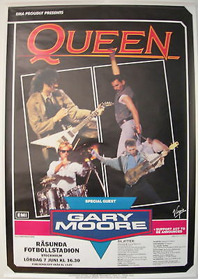 Queen Concert Tour Poster 1986 A Kind Of Magic