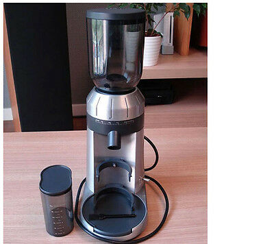 Home Silvery Electric Grinder Mill Grinding Tool Automatic Coffee Bean Grinder&