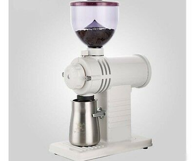 White Commercial Home Electric Grinder Mill Grinding Tool Coffee Bean Grinder #