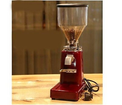 Red Commercial Home Electric Grinder Mill Grinding Tool Coffee Bean Grinder #