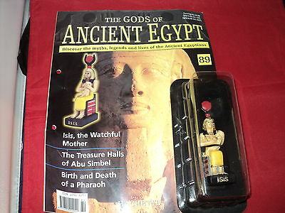 Hachette The Gods of Ancient Egypt - Issue 89 - Isis - the watchful mother