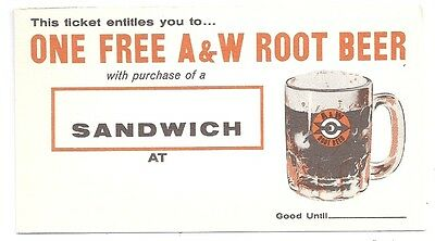 20 Vtg 1950's A & W Root Beer Excellent NEW OLD STOCK! Crafts Altered Art FUN!