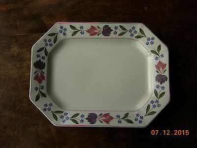 "Adams Old Colonial serving platter 9"" x 12"" plate"